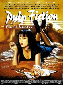 pulp fiction affiche cliff and co