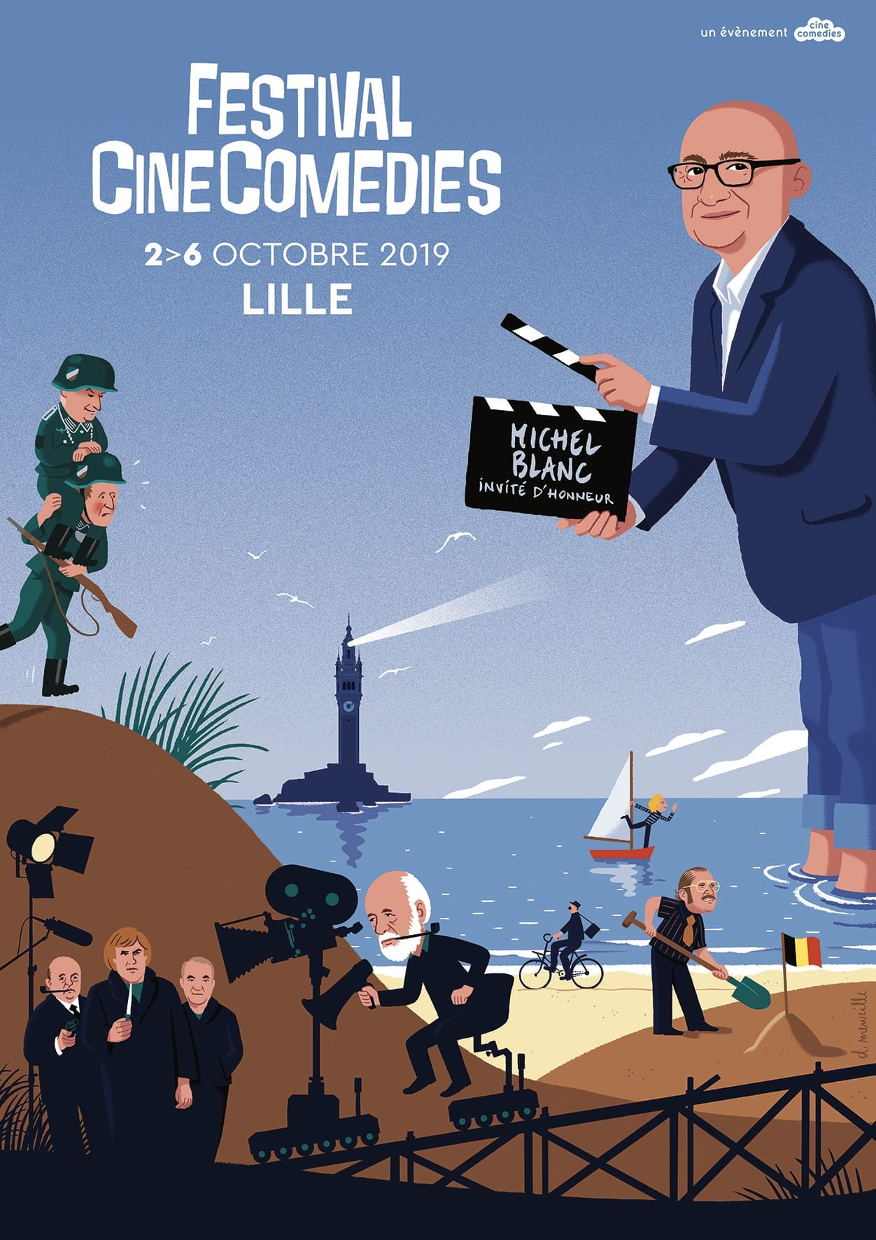CINECOMEDIES 2019 CLIFF AND CO