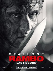 RAMBO LAST BLOOD AFFICHE CLIFF AND CO