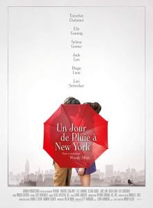 un jour de pluie à new york affiche cliff and co