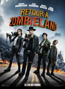 retour a zombieland affiche cliff and co