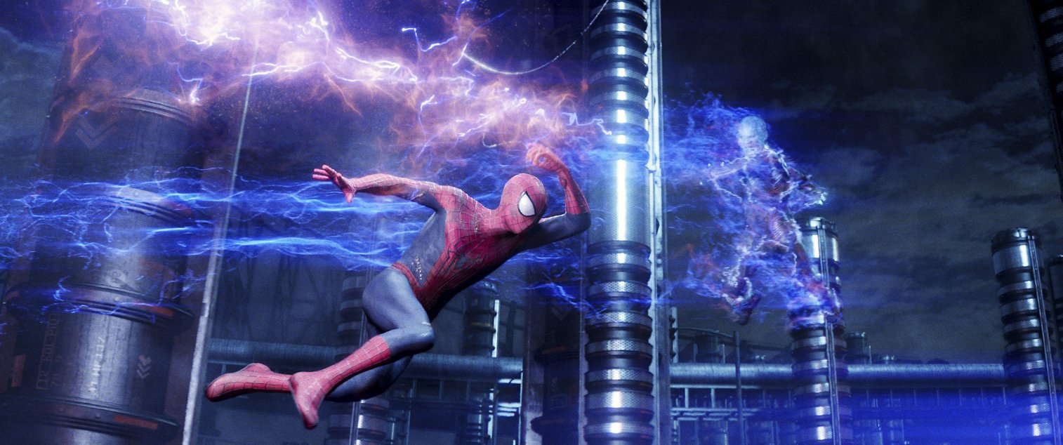 theAmazingSpiderMan2-Spidey-cliff-and-co