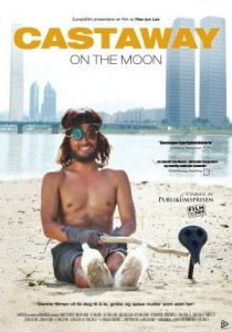 castaway on the moon affiche cliff and co