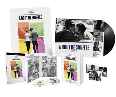 Une édition Collector pour (re)découvrir sous ses plus beaux atours en 4K le chef-d'oeuvre de Jean-Luc Godard qui mit sur orbite Jean-Paul Belmondo. Inmanquable. 49.99€ chez Studio Canal