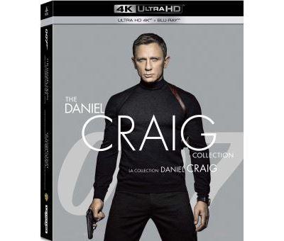 Les 4 James Bond avec Daniel Craig réunis dans un coffret 4K pour redécouvrir l'intégralité des aventures du dernier 007 en date avant la sortie espérée du tout dernier volet en 2021 (on l'espère en tout cas) Mourir peut attendre. Chez MGM 79.99€ env.